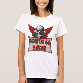 Route 66 Biker T shirts Gifts