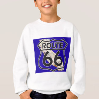 Route 66 Blue California Sweatshirt