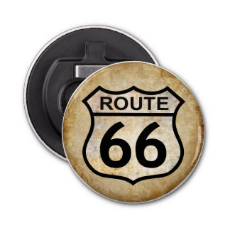 Route 66 bottle opener