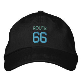 ROUTE 66 cap Embroidered Hat