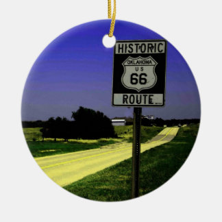 Route 66 Christmas Ornament