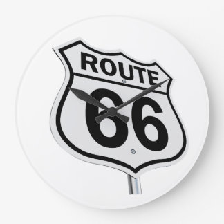 Route 66 clock. large clock