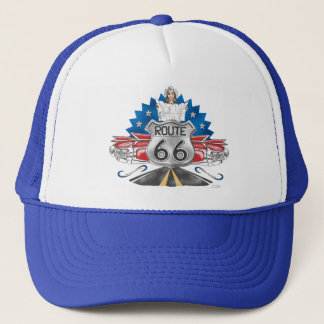 Route 66 Cowgirl Baseball Cap