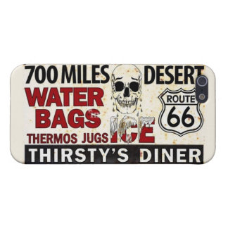 "Route 66 Festival ""Thirsty's Diner"" iPhone 5/5s iPhone 5 Cases"