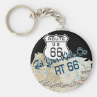route 66 gifts key ring