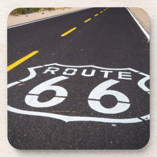 Route 66 highway marker, Arizona Drink Coasters