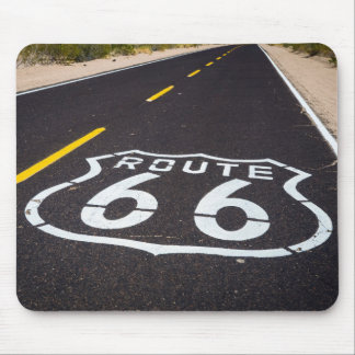Route 66 highway marker, Arizona Mouse Mat