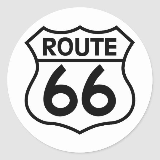 Route 66 Highway Sign Apparel & Gifts Classic