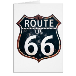 Route 66-Honor the Mother Road Card