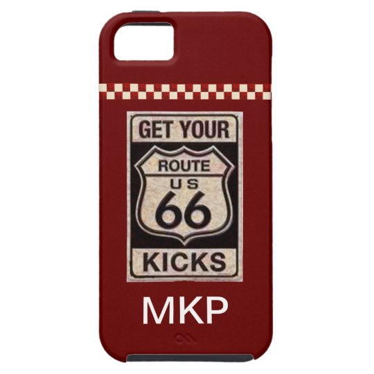 Route 66 iPhone 5 cover