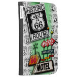 ROUTE 66 KINDLE or E-READER CASE by PopArtDiva Cases For Kindle
