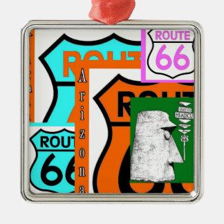 Route 66 Kingman Giganticus Headicus AZ Christmas Ornament