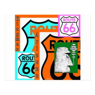 Route 66 Kingman Giganticus Headicus AZ Postcard