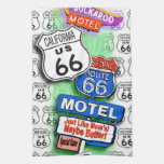 ROUTE 66 Kitchen, Bar or Bath TOWELS 1