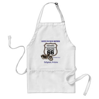 Route 66-Listen to your mother- Seligman Standard Apron