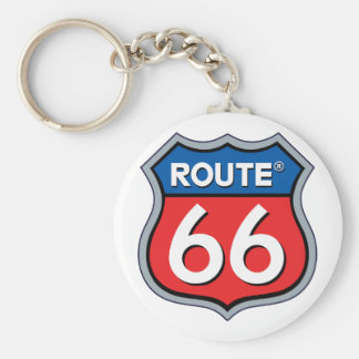 Route 66 Logo Key Chains