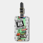 ROUTE 66 LUGGAGE TAG by PopArtDiva
