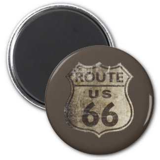 Route 66 refrigerator magnet