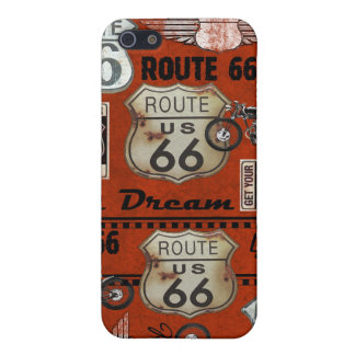 Route 66 Map - SRF iPhone 5 Cases