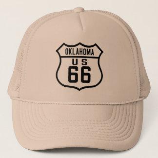 Route 66 - Oklahoma Trucker Hat