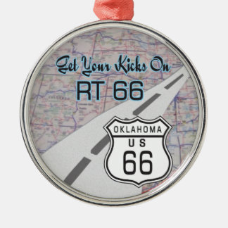route 66 ornament