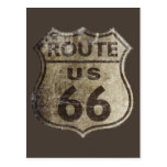 Route 66 post card