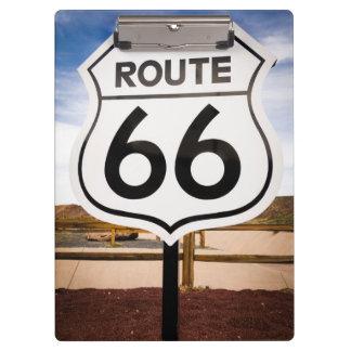 Route 66 road sign, Arizona Clipboard