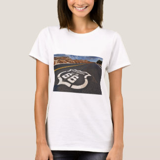 route 66 road sign USA travel hot rod T-Shirt