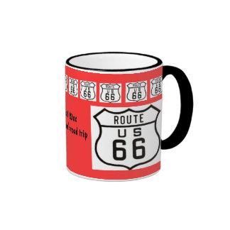 Route 66 Road Trip Souvenir Coffee Mugs