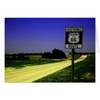 Route 66 Roadside Stop Greeting Card