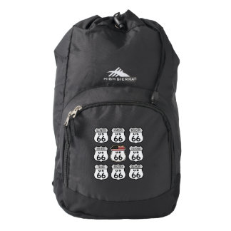 Route 66 Signs Backpack