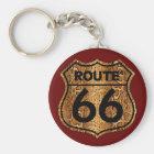 Route 66 Snake Skin Gift Key Ring