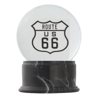 Route 66 snow globes