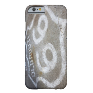 Route 66 Spray Painted on Road, Alanreed, Texas, Barely There iPhone 6 Case