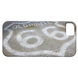 Route 66 Spray Painted on Road, Alanreed, Texas, iPhone 5 Covers