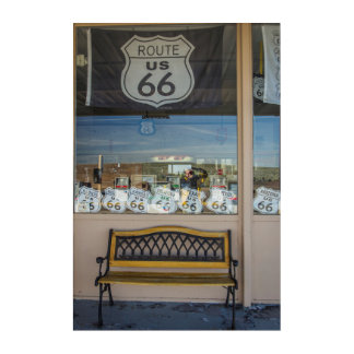 Route 66 Storefront Acrylic Print