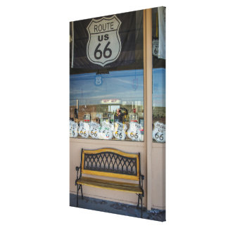 Route 66 Storefront Canvas Print