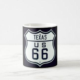 Route 66 Texas Coffee Mug