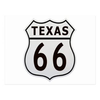 Route 66 Texas Postcard