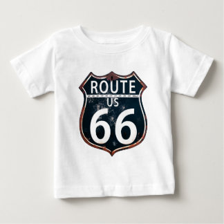 Route 66 - The Mother Road Baby T-Shirt
