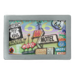 ROUTE 66 - The Mother Road BELT BUCKLE
