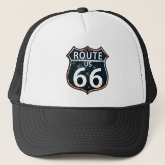 Route 66 - The Mother Road Trucker Hat