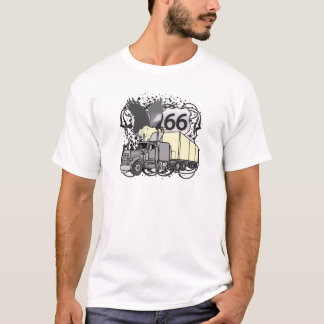 Route 66 Trucker T-Shirt