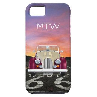 Route 66 - Vintage Morgan ... iPhone 5 Case