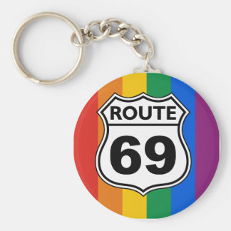 ROUTE 69 KEY CHAIN