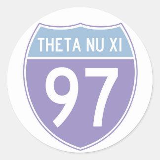 Route 97 Sticker