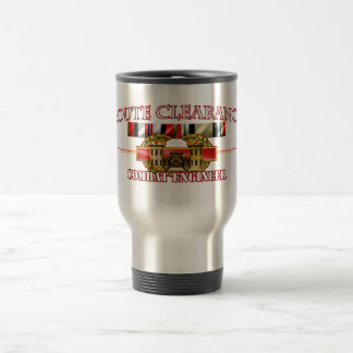 Route Clearance OEF OIF 15 Oz Stainless Steel Travel Mug