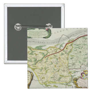 Route of Marco Polo 15 Cm Square Badge