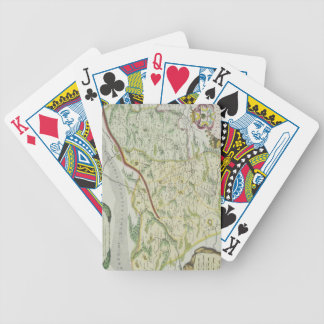 Route of Marco Polo Bicycle Playing Cards