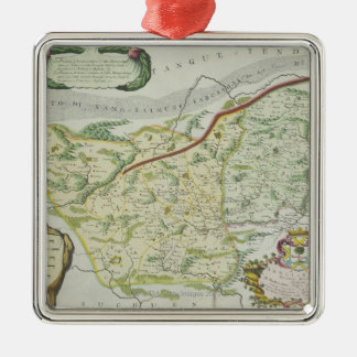 Route of Marco Polo Christmas Ornament